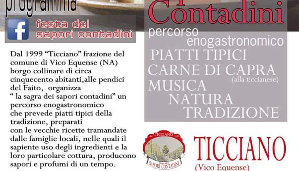 Festa dei sapori contadini a Ticciano