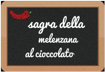 Sagra della Melanzana al cioccolato